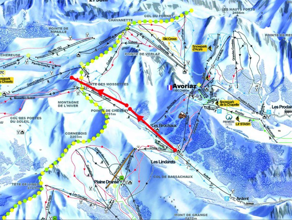 Avoriaz Portes du Soleil ski lifts